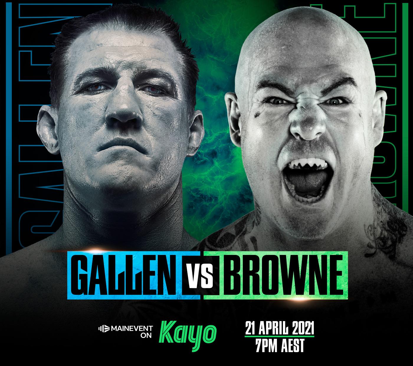 GALLEN vs BROWNE